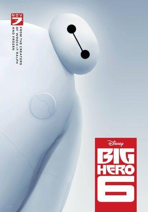 'Big Hero 6' Poster #1