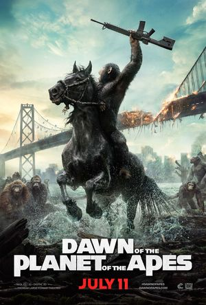 New 'Dawn of the Planet of the Apes' poster