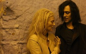 Tilda Swinton and Tom Hiddleston star in Only Lovers Left Al