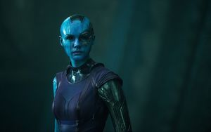 Space pirate Nebula in the 'Guardians of the Galaxy'