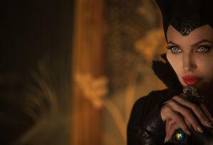 Angelina Jolie has a creepy look, Maleficent