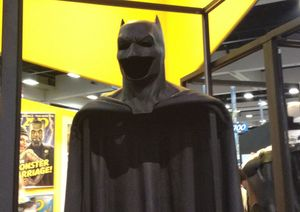 Ben Affleck's Batsuit from Batman v. Superman Revealed at
