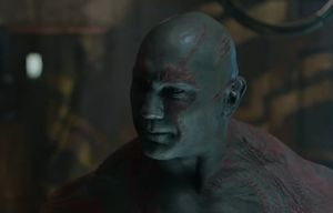 Drax close-up, Guardians Of The Galaxy