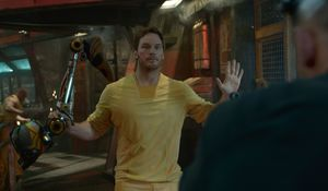 Hands up Peter Quill, Guardians Of The Galaxy