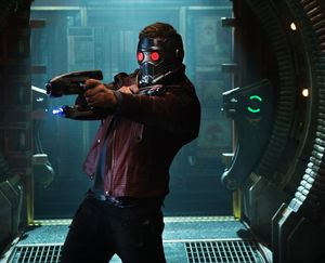 Star-Lord gun, mask