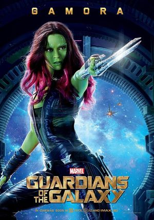 New Guardians of the Galaxy Gamora Poster