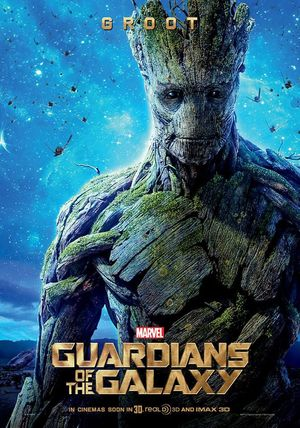 New Guardians of the Galaxy Groot Poster