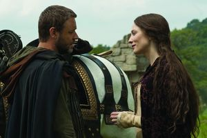 Russell Crowe and Cate Blanchett film Robin Hood