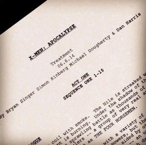 Bryan Singer posts image of X-Men: Apocalypse treatment