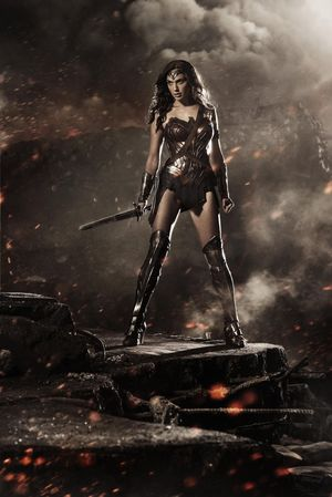 First look at Wonder Women from the upcoming Batman v. Superman: Dawn of Justice that will be directed by Zack Snyder