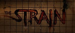 The Strain blood on wall promo