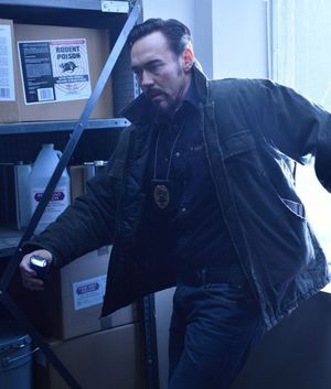 Kevin Durand sees vampire in The Strain