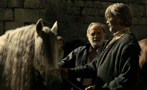 Bruno Ganz and Mads Mikkelsen in Michael Kohlhaas