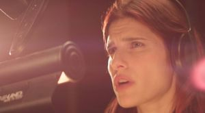 Lake Bell doing voice-over work