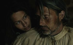 Delphine Chuillot as Judith and Mads Mikkelsen as Michael Ko