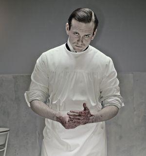 Eric Johnson as Dr. Everett Gallinger in The Knick