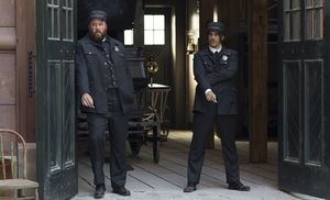 Ambulance drivers in The Knick