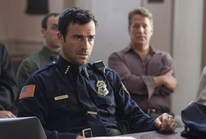 Justin Theroux as chief Garvey in The Leftovers