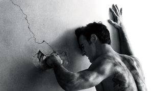 The Leftovers punch the wall poster