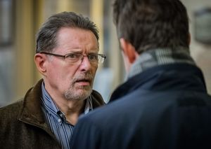 Nev talks to Phil Crabtree in Happy Valley