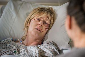 Catherine beaten up in Happy Valley
