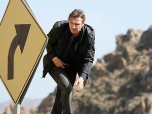 Liam Neeson as Bryan Mills in Taken 3