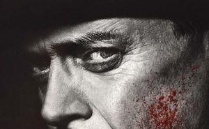 Nucky, bloody face, final season poster