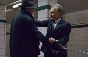 Setrakian and the german vampire fight in The Strain