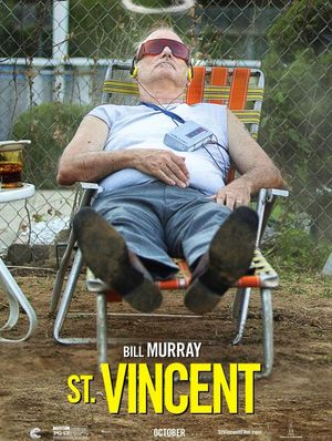 Bill Murray as Vincent character poster