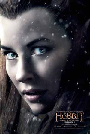 Evangeline Lilly as Tauriel poster