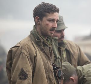 Shia LaBeouf in WWII film Fury