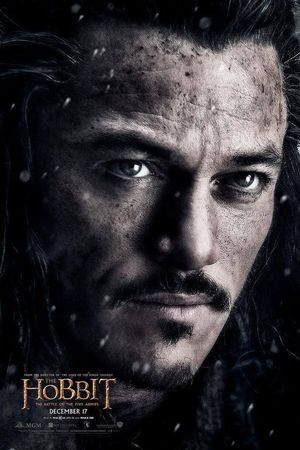 Luke Evans as Bard poster