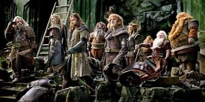 The dwarfs in The Hobbit: The Battle of the Five Armies