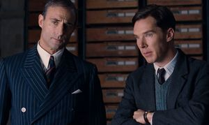 Mark Strong and Benedict Cumberbatch