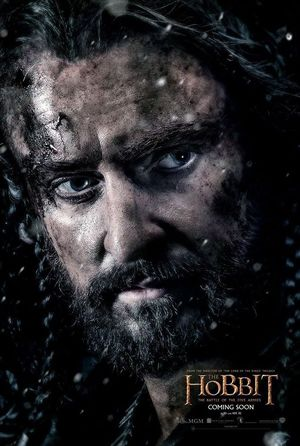 Thorin Oakenshield poster - The Hobbit: The Battle of the Fi