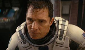Matthew McConaughey sweating quite heavily