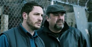Tom Hardy and James Gandolfini