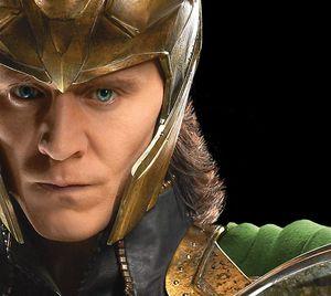 Loki character close-up