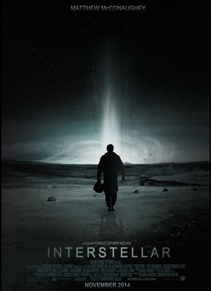 Interstellar beautiful dark sky poster