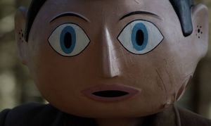 Frank head close-up