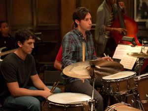 Nate Lang as first drummer in Whiplash