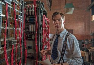 Benedict Cumberbatch helps crack the Enigma code in The Imit