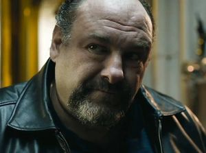 Close-up James Gandolfini in The Drop