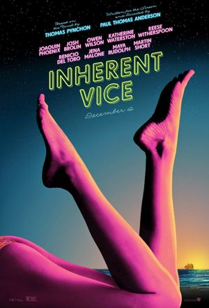 Inherent Vice legs poster