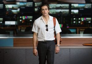 Jake Gyllenhaal distraught in the TV studio, Nightcrawler