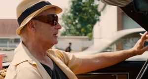 Bill Murray drives around in St. Vincent