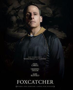 Steve Carell as John du Pont character poster - Foxcatcher