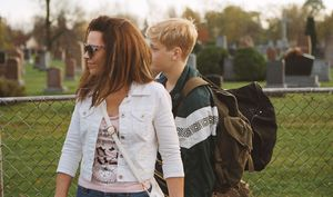 Anne Dorval and Antoine-Olivier Pilon in Mommy