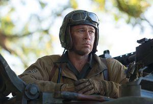 Brad Pitt neutral, Fury