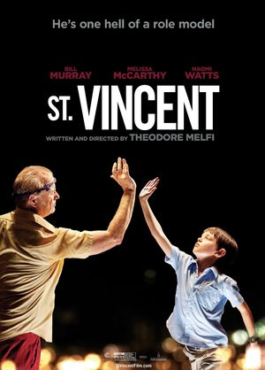 He's one hell of a role model - St. Vincent poster